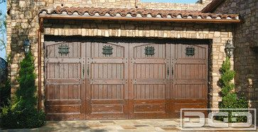 Ideal garage door look for our home