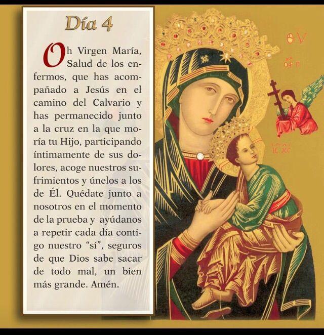 Mayo 4 Mes de nuestra Santisima Virgen Maria