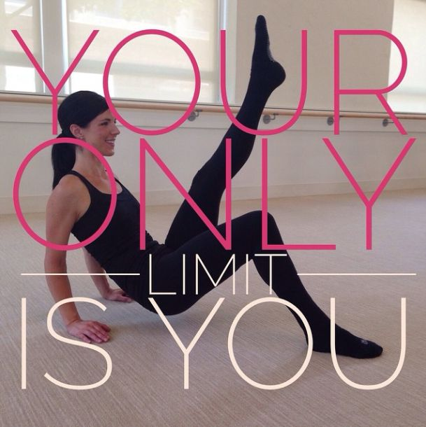 Push yourself past your limits and you may perhaps surprise yourself! #barmethod