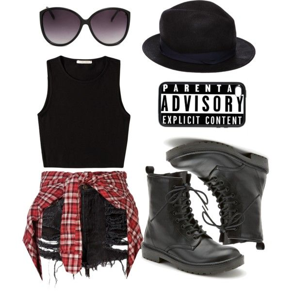 """Explicit Content"" by metal-head on Polyvore"
