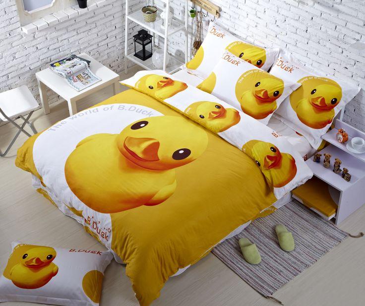 Yellow Rubber Ducks Bedding Best Duvet Cover  Stuff to Buy  Best duvet covers Family bed Owl