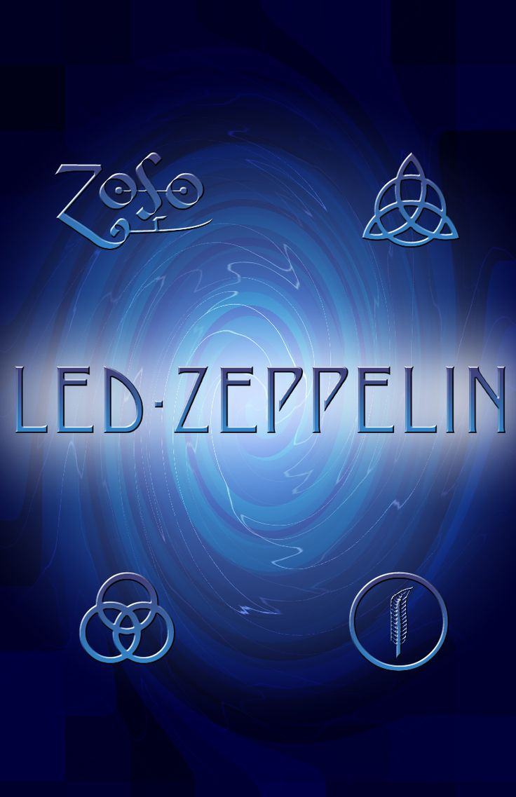 ☮ American Hippie Psychedelic Art Classic Rock Music ~ Led Zeppelin