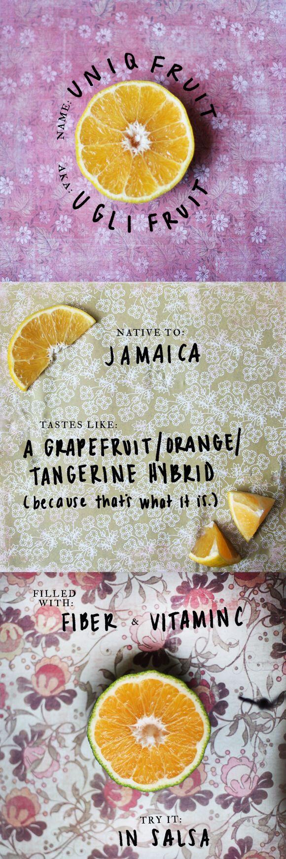 Aka: Ugli fruit