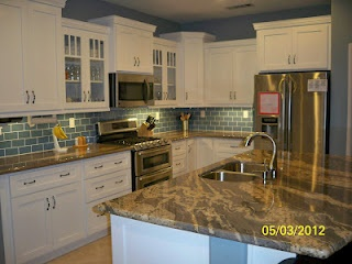 7 best images about sea glass backsplash on pinterest