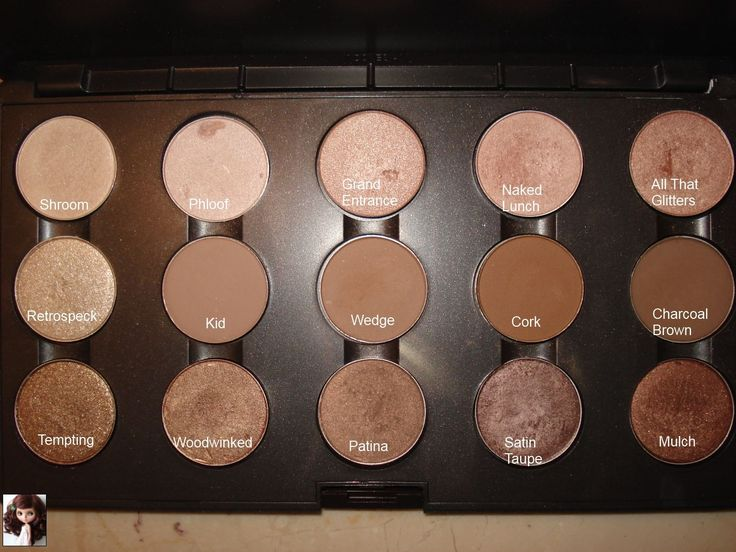 MAC must haves- I can create almost anything  with these colors