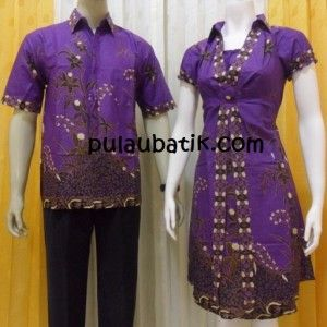 model baju batik sarimbit modern BS088