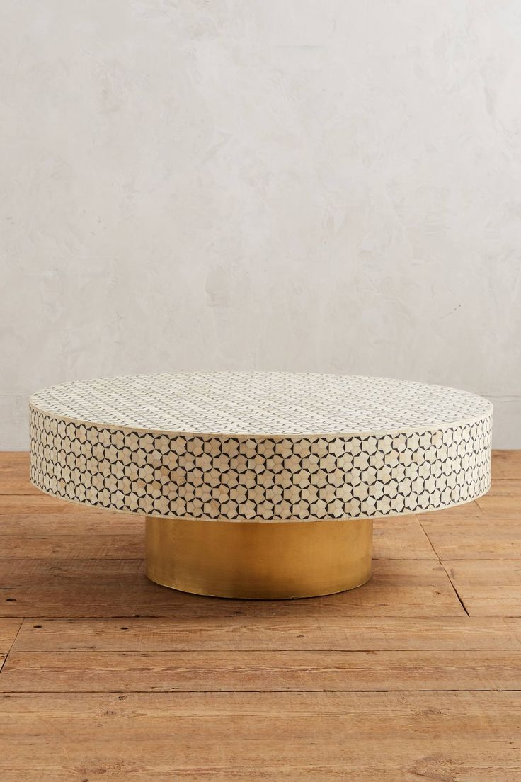 Targua Coffee Table Living Room Brass Coffee Table