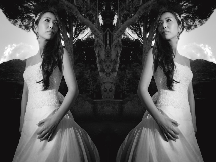 the bride requested extremely artistic images