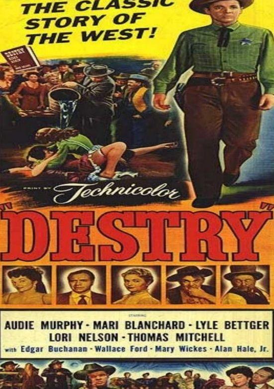 Destry Dvd 1954 Audie Murphy Classic Movies Pinterest