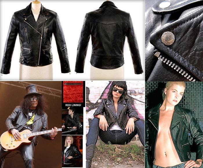Straight to hell leather jackets