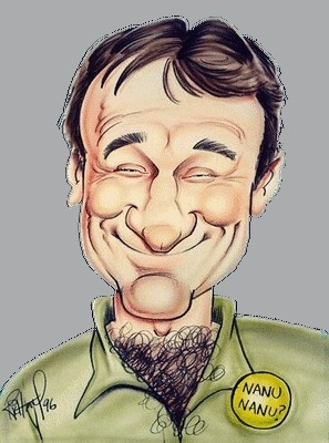 Robin Williams  FOLLOW THIS BOARD FOR GREAT CARICATURES OR ANY OF OUR OTHER CARICATURE BOARDS. WE HAVE A FEW SEPERATED BY THINGS LIKE ACTORS, MUSICIANS, POLITICS. SPORTS AND MORE...CHECK 'EM OUT!! Anthony Contorno Sr