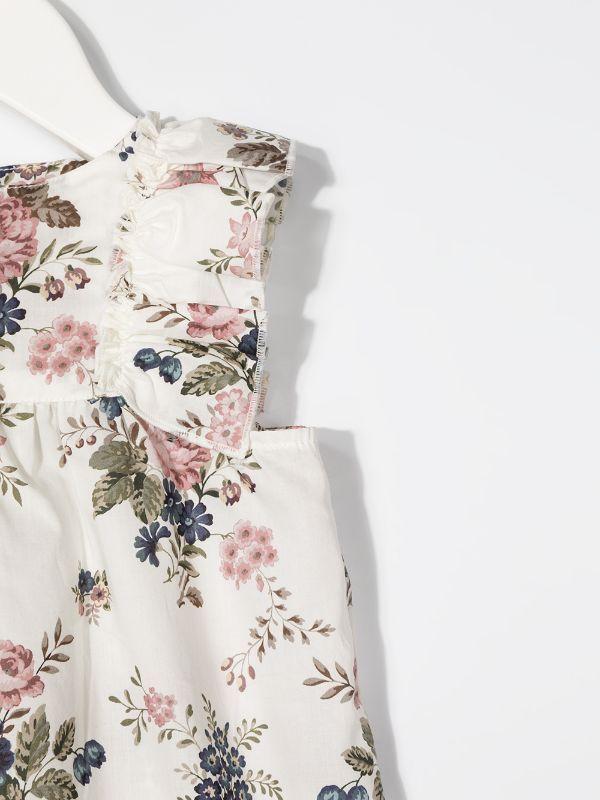 Violeta E Federico فستان كارين بطبعة زهور Farfetch Floral Print Dress Print Dress Fashion