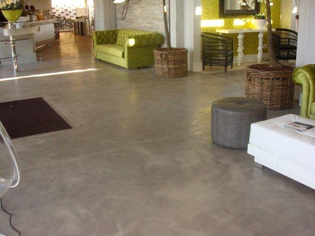 CreteCote floor