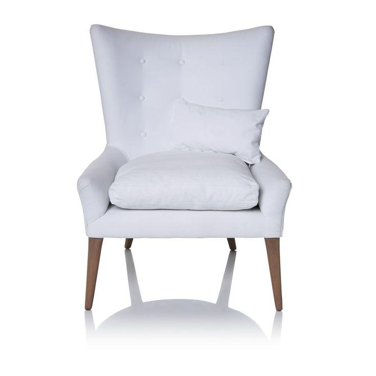 Moderne Polstermobel Exklusiver Sessel Im Retro Look - Design