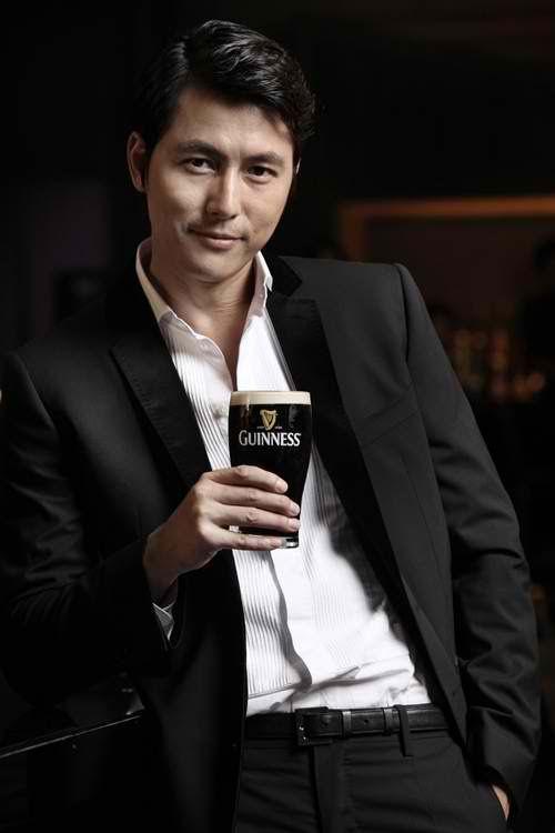Jung Woo Sung + Guinness | A Koalas Playground but when I do I drink Guinness