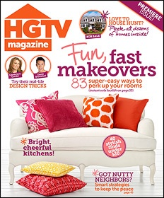 HGTV Magazine...  I think that I need this subscription