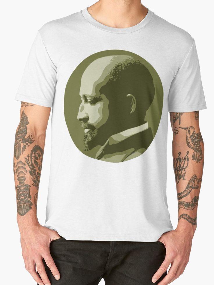 Web dubois premium tshirt by savantdesigns dubois
