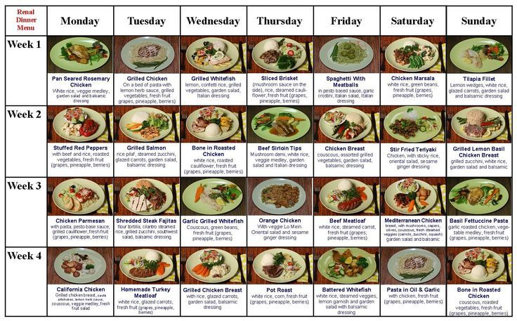 The Renal Diet Menu | Restricted diet never tasted so good! | renal diet foods, renal diet, low potassium diet, kidney disease diet, low sodium diet, diabetic meal plans, diabetic meals, low potassium diet