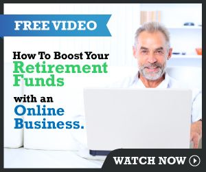 Boost retirement funds with home based business.