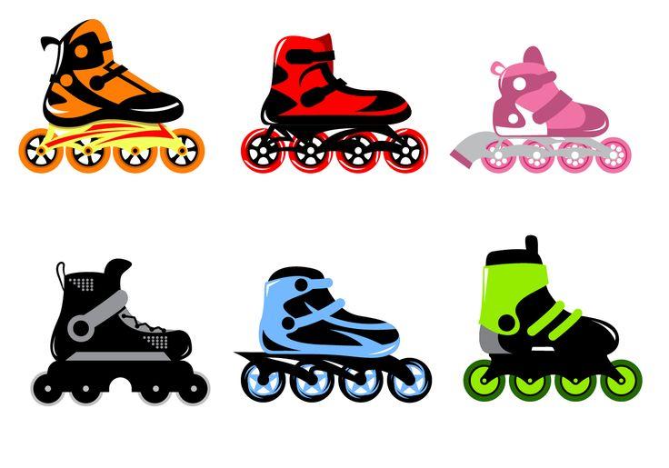 quad skate clip art - photo #18