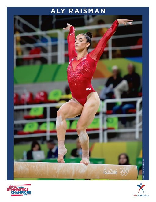 2016 Signed Aly Raisman Photo