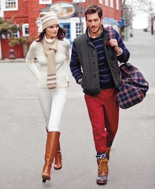 Brooks Brothers | Duck Boots #brooksbrothers #duckboots