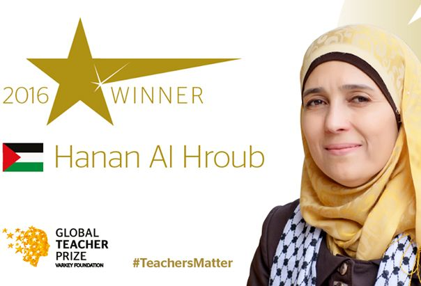 """O profesoară palestiniană, desemnată """"cel mai bun profesor din lume"""", a câştigat un milion de dolari. VIDEO - Mediafax"""