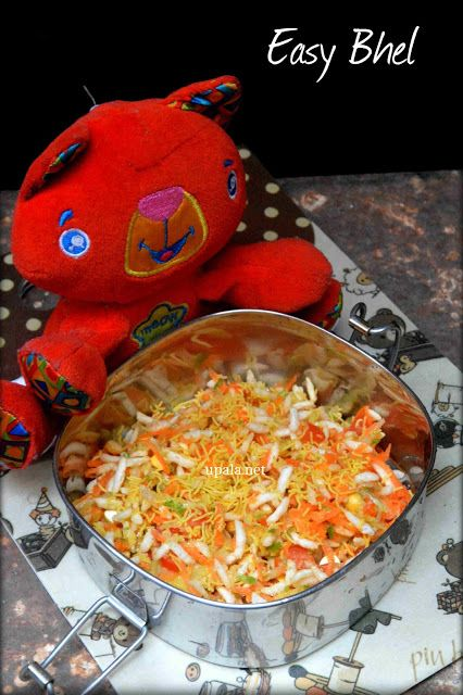 easy bhel http://www.upala.net/2015/07/easy-bhel-puri-no-onion-kids-snack.html