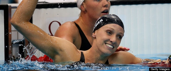 Dana Vollmer World Record: U.S. Swimmer Wins Olympic Gold In 100M Butterfly