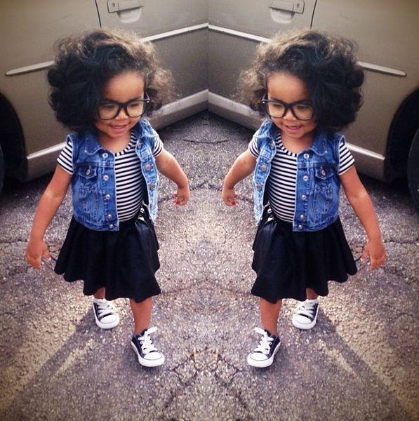 Phenomenal Cute Black Babies With Swag Google Search Babyfashion Short Hairstyles Gunalazisus