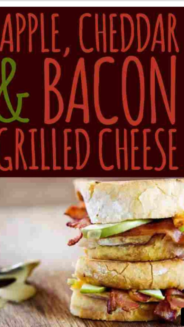 Bacon grilled cheese and avocado | Business Ideas | Pinterest
