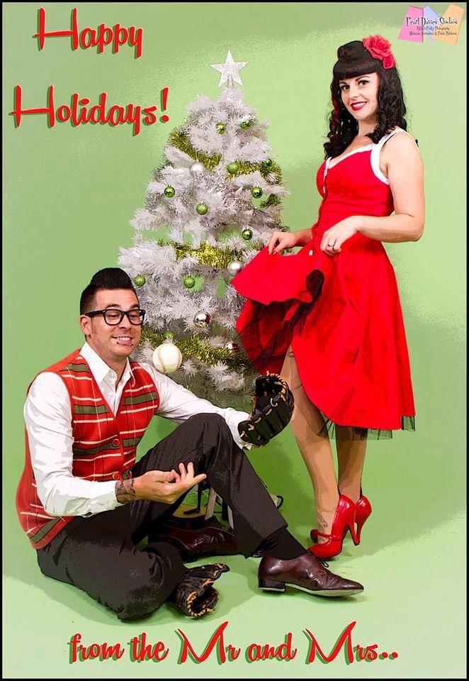 Christmas phot shoot with pearl Davies studios