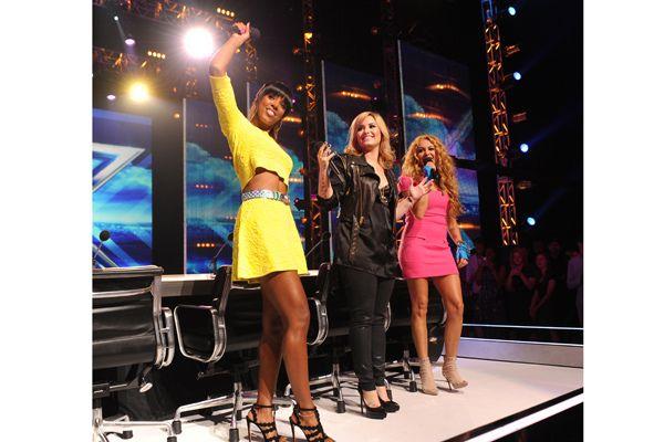 Meet the ladies of #XFactor S3! #KellyRowland #DemiLovato #PaulinaRubio #CTV