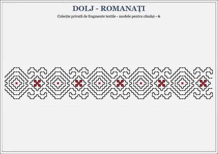 Semne Cusute: romanian traditional motifs - OLTENIA- Dolj & Roma...