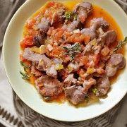 Tocanita de pipote de pui | Retete culinare Laura Adamache