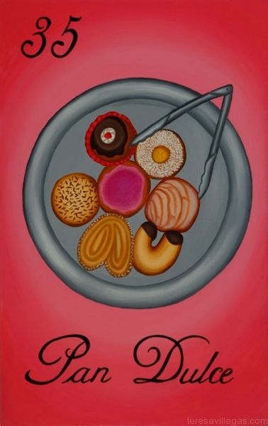 Pan Dulce makes life more fair.  Arte by Teresa Villegas