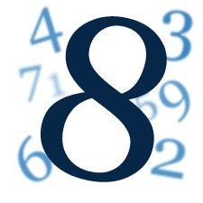 Wibracja numerologiczna liczby 8. Tarot Numerologiczny
