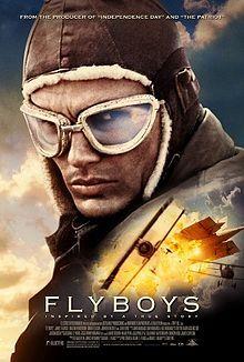Flyboys. MGM, 2007. Starring James Franco, Martin Henderson, Jean Reno, Jennifer Decker, Abdul Salis, Philip Winchester, Tyler Labine and David Ellison.
