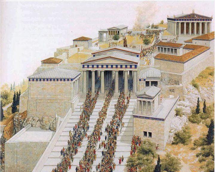 Ταξίδι στην αρχαία Ελλάδα: Τα Παναθήναια