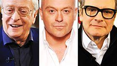 Michael Caine, Ross Kemp, Colin Firth