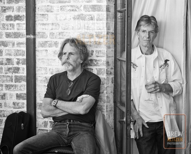 Bob Weir and Phil Lesh, Founding Members of the Grateful Dead