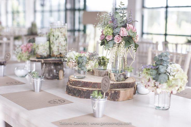 Decoraci n para bodas campestres decoraci n hermosa para - Decoraciones bodas vintage ...