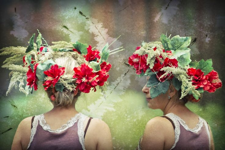 fotografia - portret niezwykły: leśne spotkania