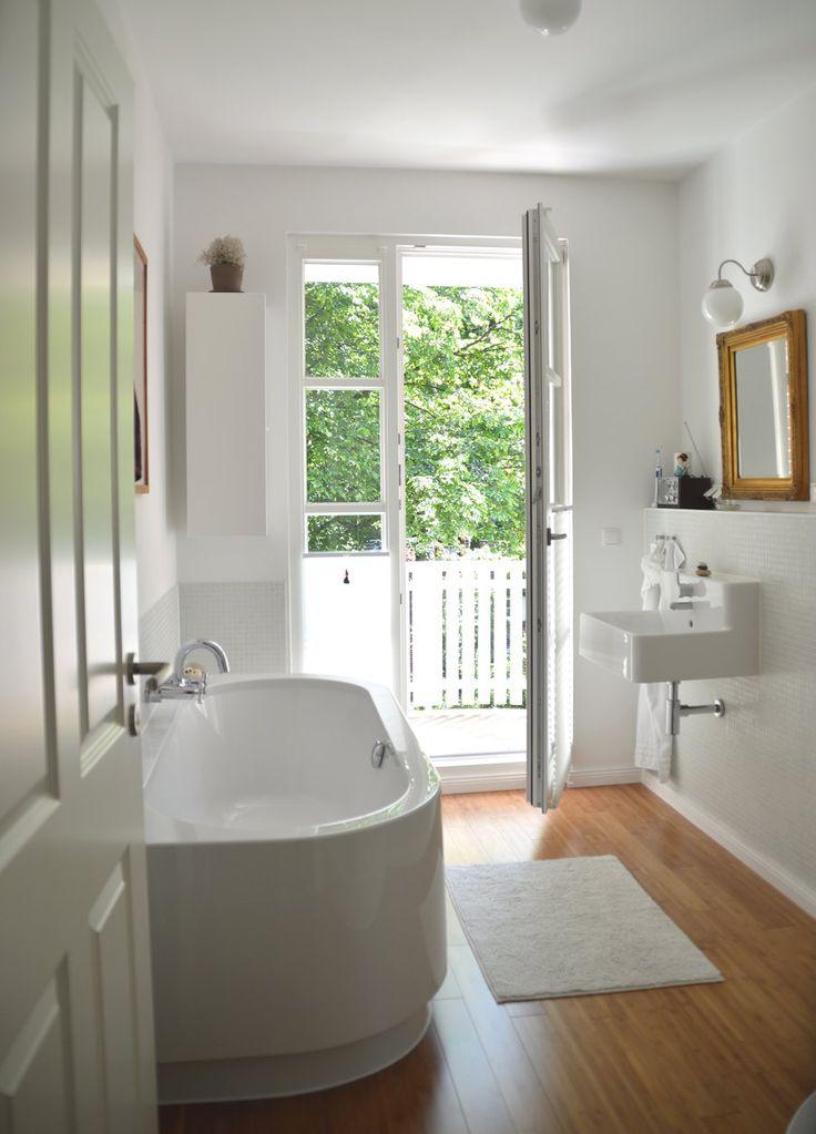 Die 25+ Besten Ideen Zu Skandinavisches Badezimmer Auf Pinterest ... Skandinavische Badezimmer