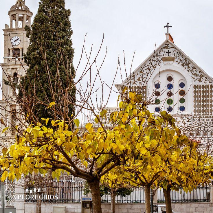 Old church, Pirgi village  www.explorechios.gr. Follow us on Facebook :explorechios.gr