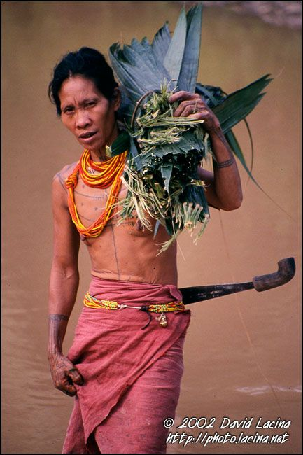 Mentawai Woman - Siberut island, Indonesia ~ Mentawai islands, Sumatra, Indonesia