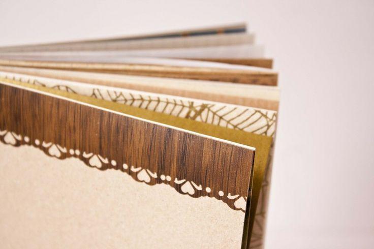 notizheft holz bord re von b r von pappe auf recycled paper and notebooks. Black Bedroom Furniture Sets. Home Design Ideas
