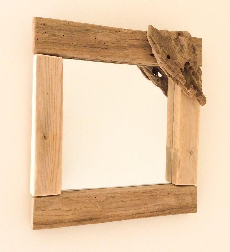 25 b sta miroir bois id erna p pinterest miroir sur for Recherche bois flotte