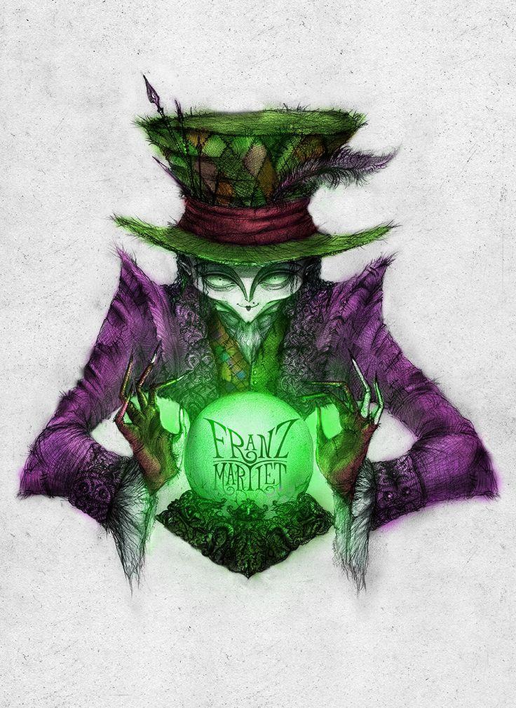 #franz_martlet #darkart #witch #madhatter #witchcraft #spell #art #digitaldrawing #drawing #illustration #halloween