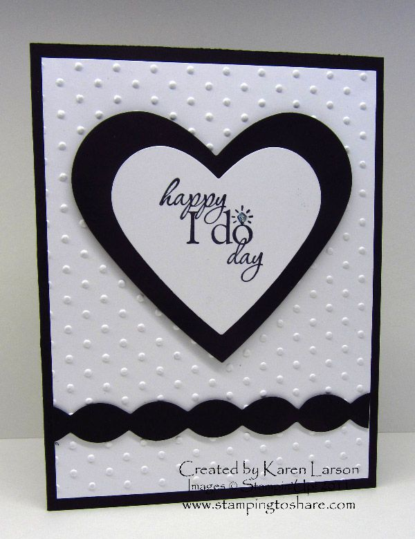 Stamping to Share: 1/18 Love, Marriage or a Baby Carriage Part One